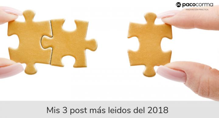 Mis tres post más leídos en 2018